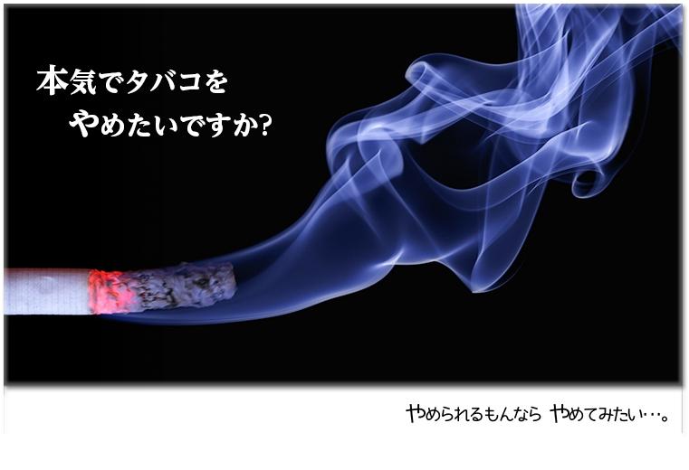 本気でタバコをやめたいですか?