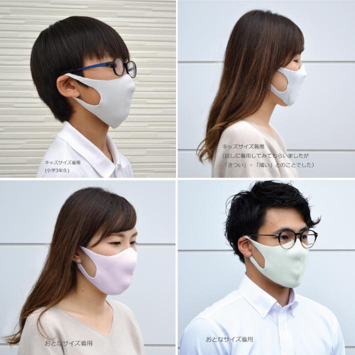 ポケット付きのマスクなので、中にフィルター・ガーゼ・インナーなどを入れられます。