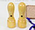 通販の西野工房/会社印鑑 実印銀行印2本セット【薩摩本柘の手彫り仕上げ印鑑】