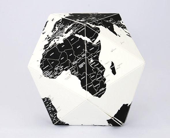 地球儀には世界の国