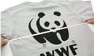 胸囲(Tシャツ)