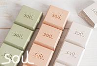 調湿性・吸湿性に優れた 天然素材 珪藻土アイテム「soil/ソイル」