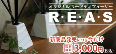 リードディフューザー R・E・A・S