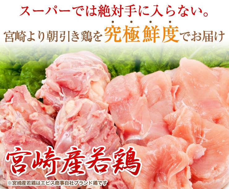 スーパーでは絶対手に入らない。宮崎より朝引き鶏を究極鮮度でお届け