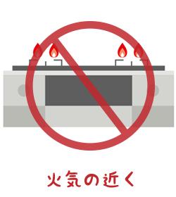 高温・多湿になる場所は避ける!1