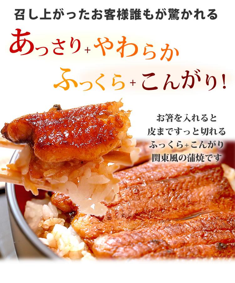 関東風 鰻蒲焼き プレゼント ギフト