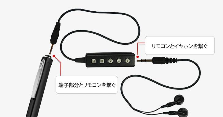 極細のペン型ボイスレコーダー VR-P006N
