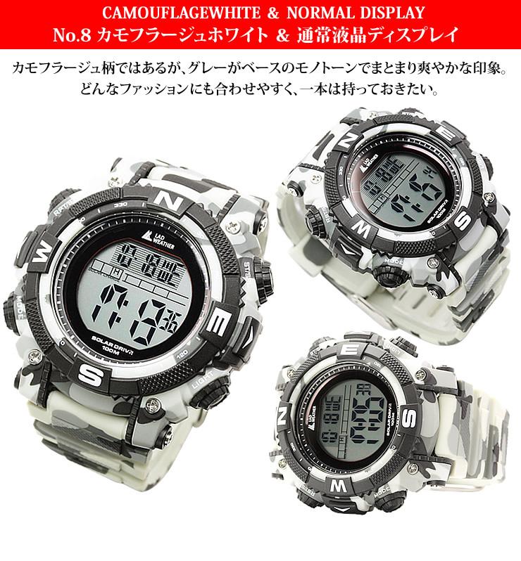 9c81229da4 楽天市場】ラドウェザー LAD WEATHER ソーラーマスター ブランド 腕時計 ...