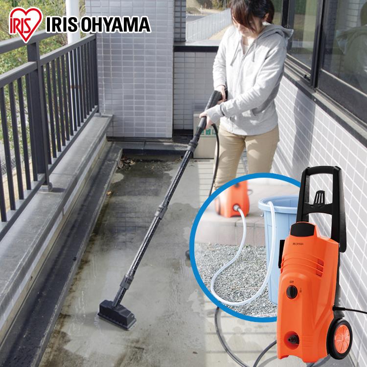 高圧洗浄機ベランダセット