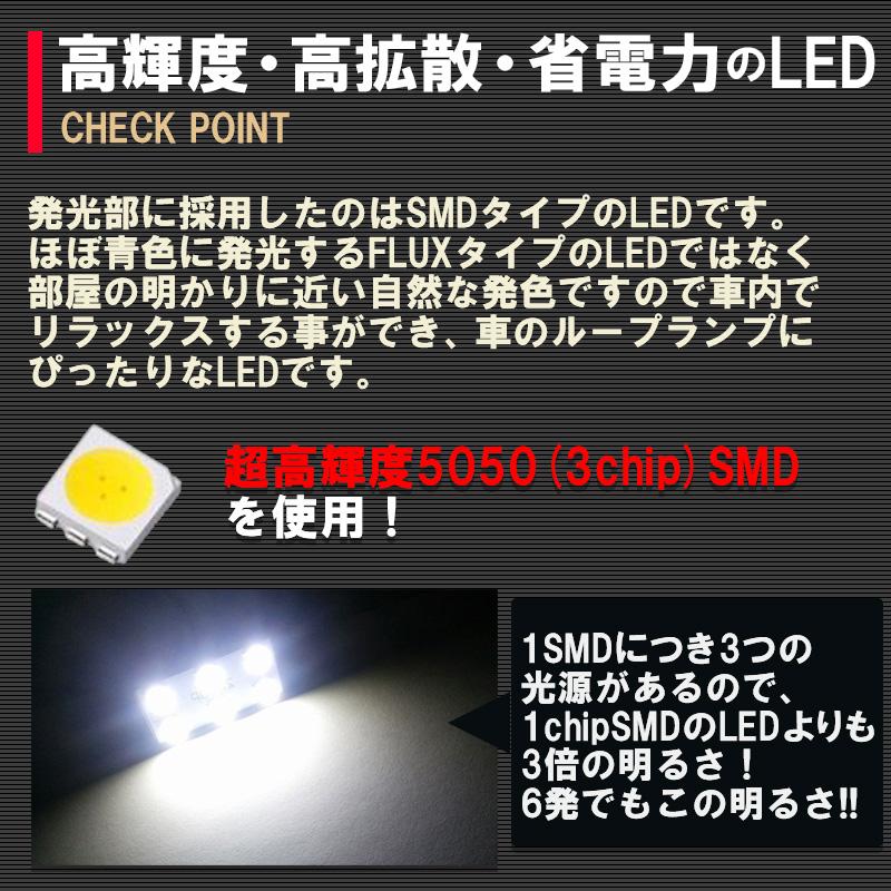 日産 新型デイズ専用LEDルームランプセット ハイブリット対応_2