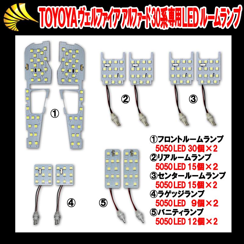 日産 デイズ専用LEDルームランプセット ハイブリット対応_4