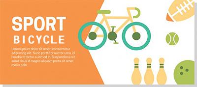 スポーツグッツ自転車