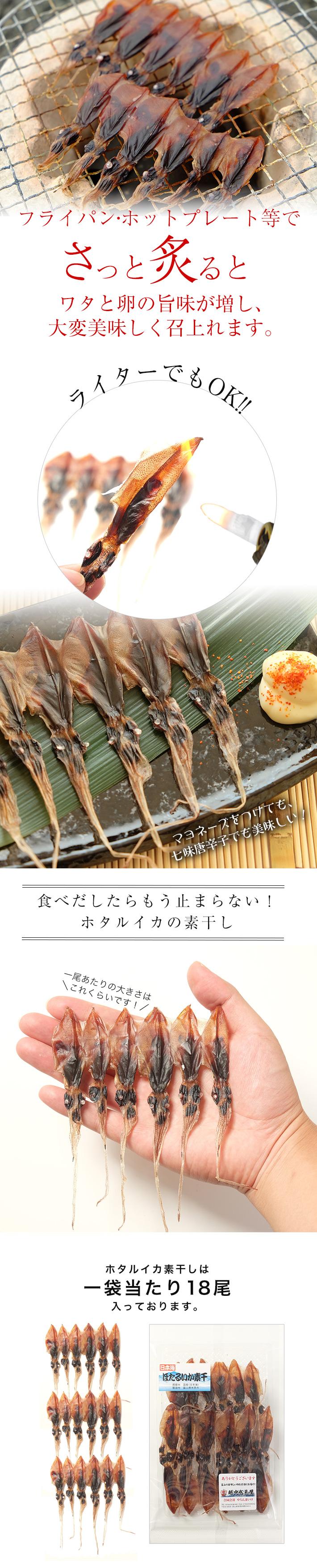 富山のホタルイカ 素干2袋セット/ぽっきり/送料無料/1000円