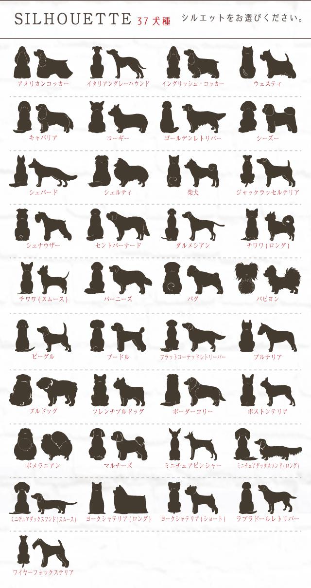 オーダーメイド オリジナル 37犬種対応