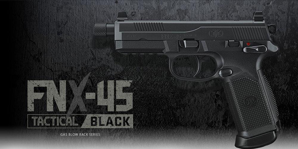 東京マルイ ガスブローバック FNX-45 タクティカル BK