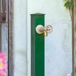 カラーアルミ立水栓 オンリーワンクラブ|水栓柱どんなお庭にもコーディネートできる、シンプルな立水栓。また、耐久性・保温性を重視した仕様になっております。