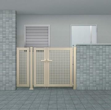 集合住宅対応門扉
