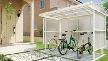 サイクルポート 自転車は、今や生活にはかかせないアイテム。集合住宅、戸建住宅ともに駐輪スペースを確保していつまでも大切にしたいものです。