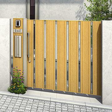 門扉[ランキング機能あり] ルシアス シリーズ玄関まわり、住宅スタイルとコーディネイトできる、豊富なデザインバリエーションをご用意。住まいの魅力を最大限に引き立てる上質で美しいデザイン。デザインとカラーの組み合せで、モダン〜洋風といった幅広いテイストのコーディネイトをすることができます。