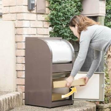 ダイケン 宅配ボックス ニコウケトール 外出時でも宅配荷物を受け取ることができる戸建住宅・事務所向けの宅配ボックス。ニコウケトール上下2層構造で80サイズ以内の荷物が2個受け取れるタイプ。