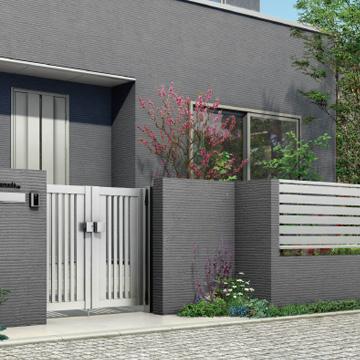 シンプレオ シリーズ ベーシックを極めたシンプルなデザインが幅広い住宅スタイルにマッチ。シンプルで住宅外観に馴染みやすい意匠です。豊富なデザインバリエーションで、さまざまなスタイルの住宅外構の演出が可能です。