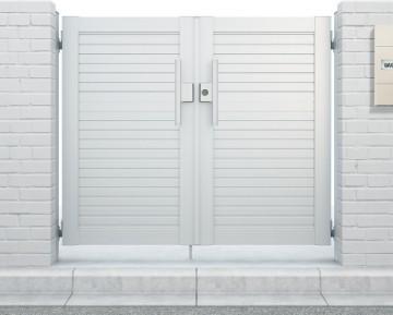 シンプレオ門扉シリーズ 豊富なデザインバリエーションで、さまざまなスタイルの住宅外構の演出が可能です。