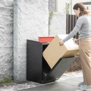 ダイケン 宅配ボックス ウケトール 外出時でも宅配荷物を受け取ることができる戸建住宅・事務所向けの宅配ボックス。ウケトール100サイズ・25kgまでの荷物が受取可能な大容量タイプ。