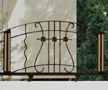 エルマージュ1型 ヨーロッパの田舎町で出会うような飾らないデザイン。ウッド調カラーパネルで玄関ドアとのコーディネートも楽しめます。