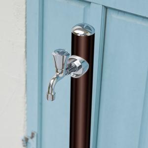 コルム オンリーワンクラブ|水栓柱あらゆるお庭を引き立てるシンプル&シックなアルミ立水栓