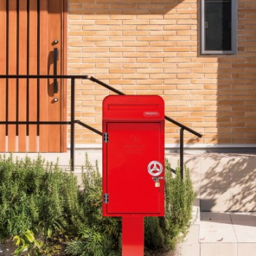 美濃クラフト|デポ ポストと宅配BOXが組み合わせられるニュータイプ!玄関をさらにお洒落にかえる一戸建て専用の郵便ポスト+宅配ボックスです