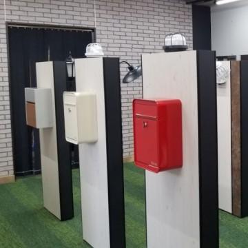 郵便ポスト まだまだ少量ですが今後にご期待下さいませSTYLE-JAPAN博多|福岡ショールーム(エクステリア・宅配ボックス・郵便ポスト・表札・照明器具のショールーム・展示場店舗内
