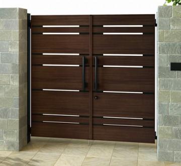 エクスティアラ門扉シリーズ 操作性、使い勝手、機能性の追求から生まれた高級形材門扉シリーズ。定番デザインに加え、独自性の高い洗練されたデザインをご用意しました。