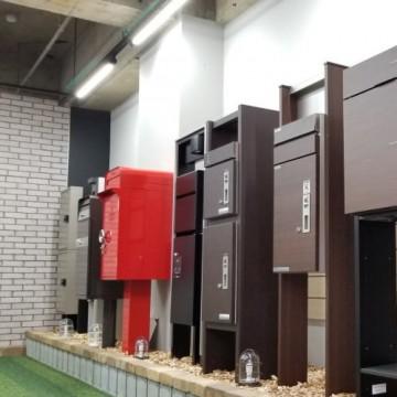 宅配ボックス 門柱タイプ各メーカー取り揃えてありますSTYLE-JAPAN博多|福岡ショールーム(宅配ボックスショールーム展示品)