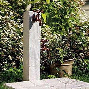 ウォータービュー コボク 準備中 TOYO|水栓柱木のナチュラルな質感と鋸引き肌のアンティークな風合いを表現した立水栓。グランドカバーや芝生に小さくて可愛らしいコボクミニポールもおすすめ