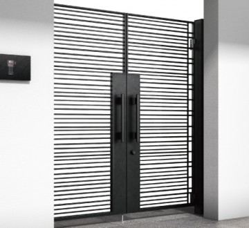 シャローネ門扉シリーズ 美しいラインを徹底的に追求した、シンプル・スタイリッシュなデザインの鋳物門扉。