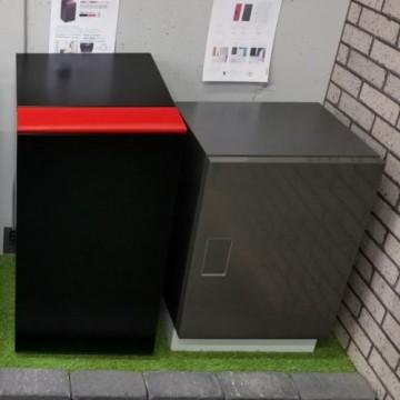 宅配ボックス 据え置きタイプ人気のパナソニック商品も設置STYLE-JAPAN博多|福岡ショールーム(宅配ボックスショールーム展示品)