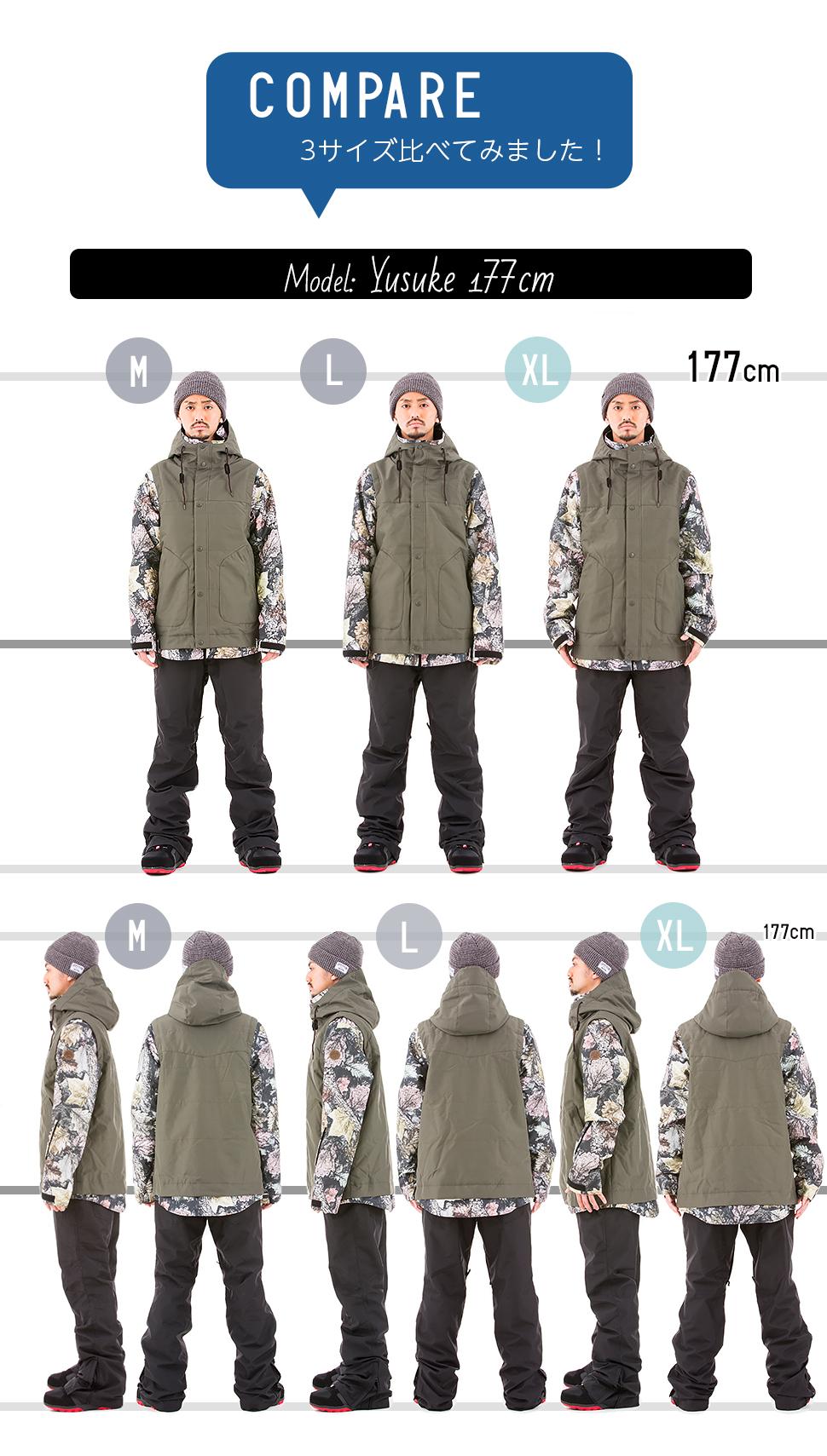 スノボ スノーボード サイズ表