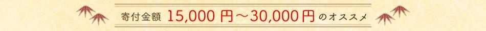 寄附金額30,000円までのオススメ