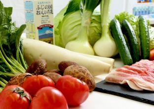 旬の野菜とお肉の詰め合わせ