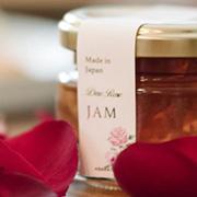 薔薇の花びらを味わう Dew Rose JAM
