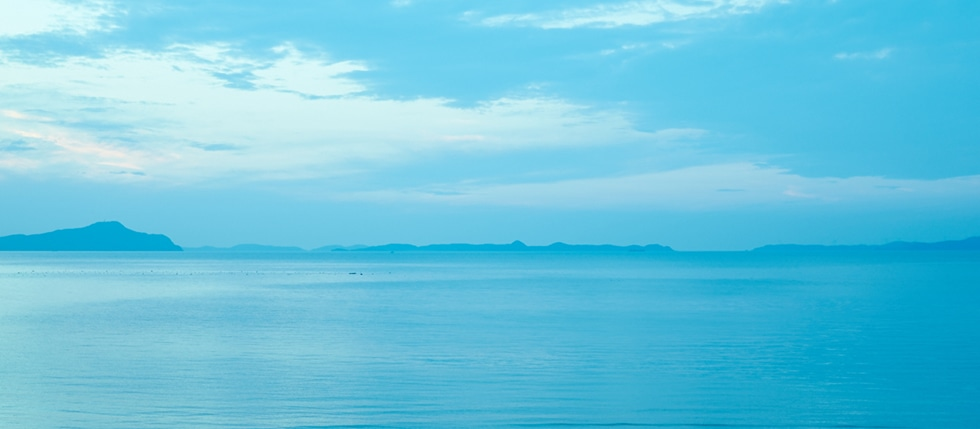 長崎県松浦市の海