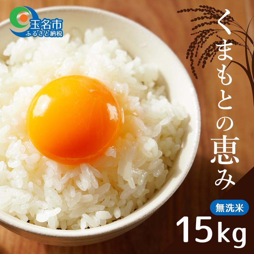 【ふるさと納税】くまもとの恵み(無洗米)15kg