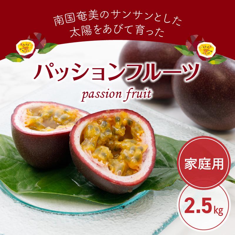 パッションフルーツ(家庭用)2.5kg
