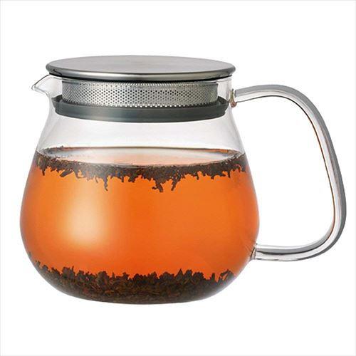 KINTO(キントー) UNITEA ユニティ ワンタッチティーポット 460ml  SLOWCOFFEESTYLE 紅茶 お茶 耐熱ガラス