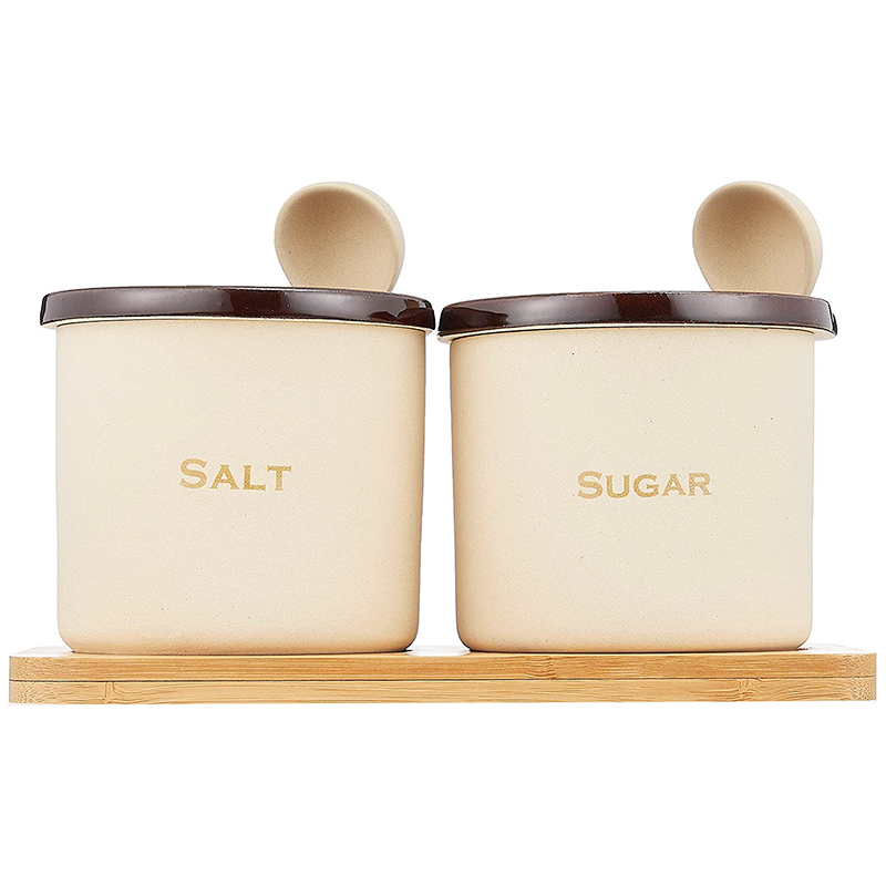 ソルト&シュガー素焼きポット