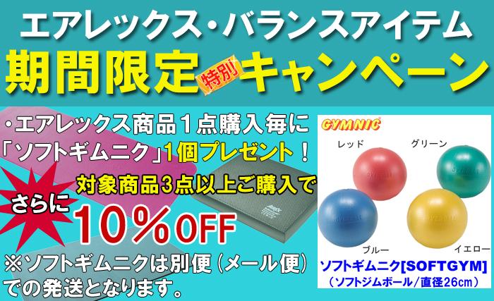 【エアレックス】キャンペーン(3/31まで)