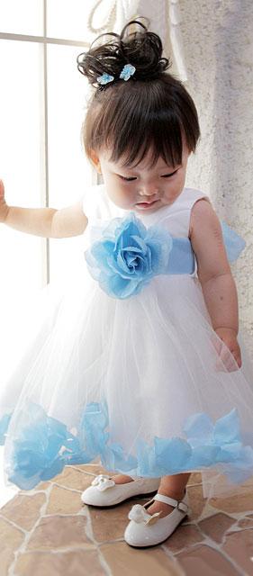 ベビードレス/フローラルワルツドレス