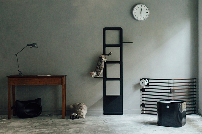 free stitch NEST cat tower 猫 ペコロ