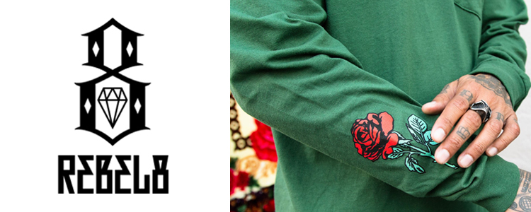 REBEL8 tシャツ レベルエイト