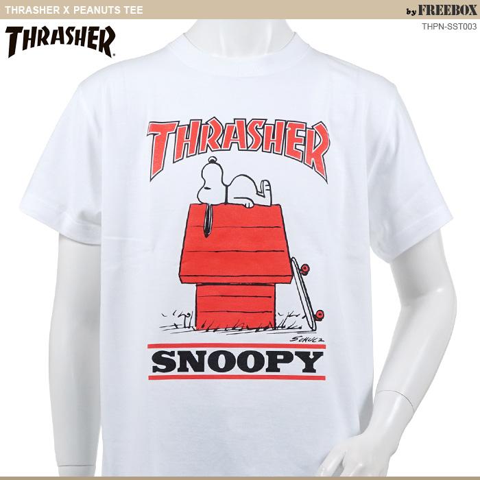 thrashertシャツ/スヌーピー/peanutstシャツ/スラッシャー